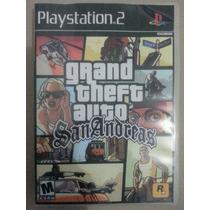 Gta San Andreas ( Em Português ) Ps 2 Game - Frete Grátis