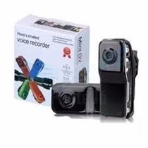 Filmadora Mini Dv Dvr Camera Video Espiã Capacete C/ Sensor