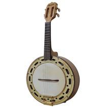Banjo Elétrico Rozini Pro Rj13 Natural