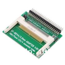 Adaptador Compact Flash Cf Ide Macho 44 Pinos P Notebook Hd