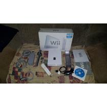 Nintendo Wii Na Caixa Já Com Programas De Destravamento
