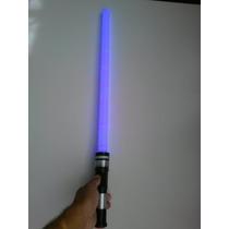 Espada Sabre De Luz Star Wars Luz E Som +pilhas Festa - 53cm