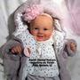 Boneca Bebê Reborn Valentina Ou Valdir Igual A Um Bebe Real