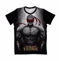 Camisa, Camiseta Anime - Leagues Of Legends - Lee Sin