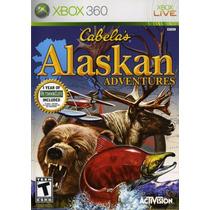 Cabelas Alaskan Adventures Xbox 360 Original Lacrado A6384
