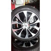 Roda Honda Civic 2015 Aro 17 Original Com Pneu