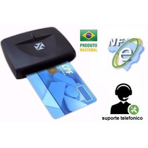 Leitora Smart Card Certificado Digital Usb Serve P/ Notebook