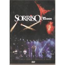 Dvd Sorriso Maroto -15 Anos Ao Vivo - Trio Ternura, Mc Sapao
