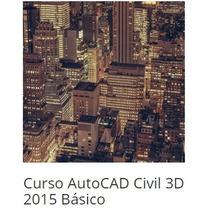 Curso Autocad Civil 3d 2015 Básico, Intermediário E Avançado