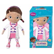 Boneca Pelúcia Dra. Brinquedos 32cm Disney - Long Jump