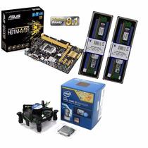 Kit Asus H81m-a/br + Intel I3-4170 3.6 Ghz+ 2x 4gb 1600
