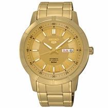 Relógio Seiko 5 Automático 21jewels Snkn62b1 C1kx - Origina