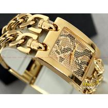 Relogio Guess Feminino Original 92056 - Dourado - Lindo !!!!