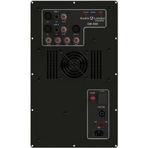 Amplificador In Box Áudio Leader Cm 600 600w Rms Caixa Som