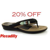 20% Off Chinelo Piccadilly Conforto Preto - 500125