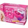 Kit Mini Utilidades Barbie Ferro E Aspirador De Pó Líder