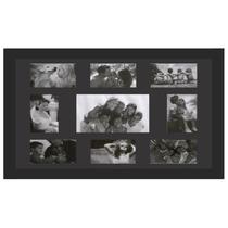 Painel De 9 Fotos - Mold Preta Ou Branca