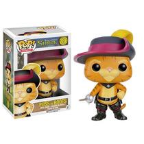 Boneco Pop Gato De Botas Shrek Puss In Boots 280 Funko.