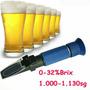 Refratometro Portátil Brix 0-32% Cerveja Artesanal Caseira A
