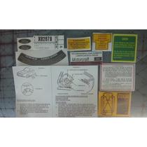 Kit Adesivos Instruções Ford Corcel 1 2 Belina Del Rey Pampa