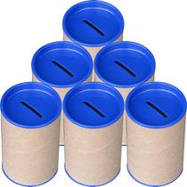 100 Cofres Cofrinhos Para Personalizar - Tampa Azul Royal