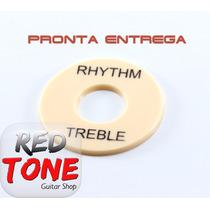 Escudo Cr/bk Chave Seletora Guitarra Les Paul Rhythm Treeble