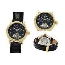 Relógio Alemão Banhado A Ouro Minoir,automático,novo
