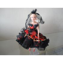 Boneca Barbie Completa - Espanhola Longo - Promoçâo