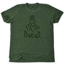 Camiseta Dakar Estampa Beduino Frontal Gola Redonda Verde