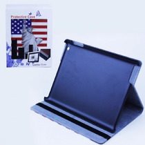 Capa Para Ipad Stand Case, Com Estampa Eua - Pronta Entrega
