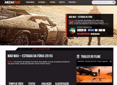 MediaFlix Movies TVShows screenshot 1