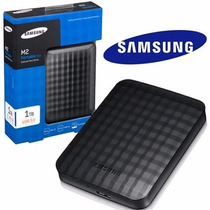 Hd Externo Portátil Samsung 1tb Usb 3.0 E 2.0 Stshx-m101tcb