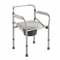 Cadeira Banho Higiênica Alumínio Elevador Assento Sanitário