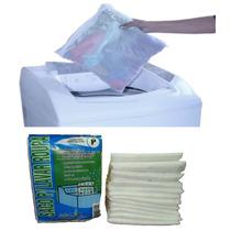 Kit C/12 Sacos P/máquina De Lavar Roupa 100%poliamida