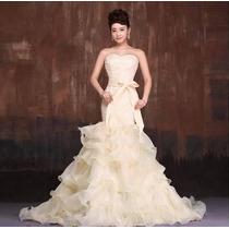 Vestido De Noiva Sereia Tomara Que Caia Pronta Entrega Barat