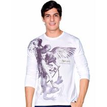 Camiseta Blusa Ágape Católica Religiosa São Miguel Arcanjo