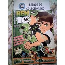 Álbum Figurinhas Ben 10 - 2009 - Completo Para Colar