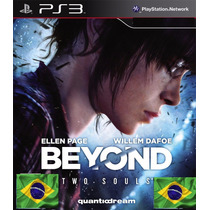 Jogo Beyond Two Souls Ps3 Mídia Física Lacrada Dub Pt-br