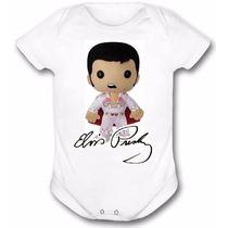 Body E Camisetas Infantis - Elvis Presley