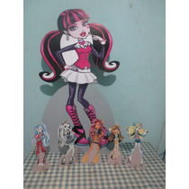 Monster High Display De Mesa E Chão ,personal,mdf