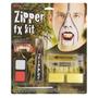 Traje Do Vampiro - Halloween Zipper Fx Kit Pintura De Rosto