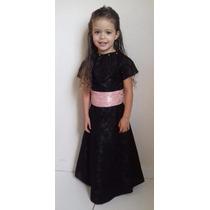 Vestido De Festa Infantil 4 Anos Aniversário Casamento