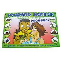 Pequeno Artista Em Gesso, Tema Dinossauros , Pronta Entrega