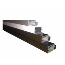 Perfil De Aluminio P/ Tela Mosquiteiro- Barra 1 Mt Cor Cinza