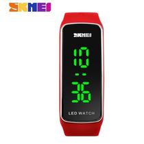 Relógio/pulseira De Pulso Vermelho Esportivo Feminino Led