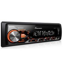 Rádio Pioneer Mp3 Player Mvh-x288fd Usb Aux Am Fm Receiver