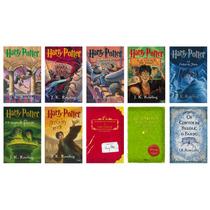 Coleção Harry Potter - Capa Original (10 Livros) !
