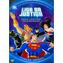 Dvd - Liga Da Justiça Sem Limites Forças Unidas Frete Grátis