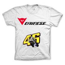 Camiseta Dainese Valentino Rossi 46 Moto Gp Fotos Reais