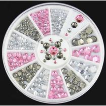 Roda Strass / Jóias Para Decoração De Unhas - Nail Art